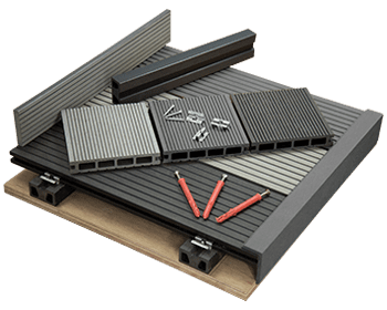 Tough decking composite decking wpc decking modern for Cheap decking boards uk
