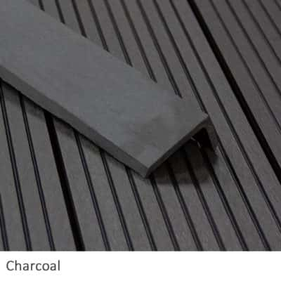 Charcoal Composite Decking Corner Trims