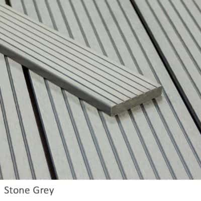Stone Grey Composite Decking Fascia Boards