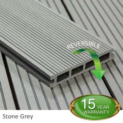 Stone Grey Decking Board