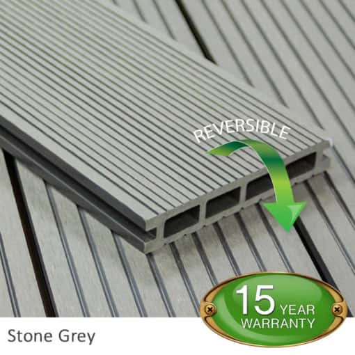 Stone Grey Decking Board - Tough Decking, Torquay