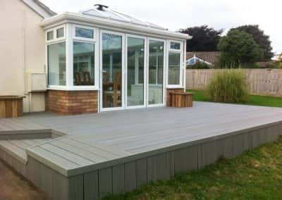 wpc composite decking installed by mod-dec