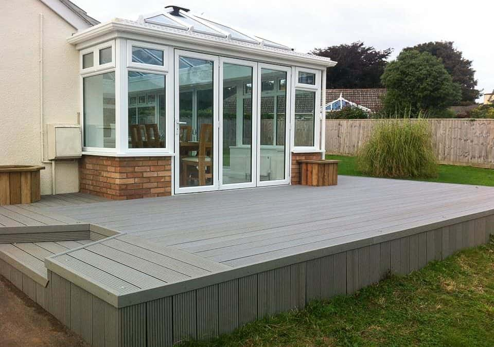 WPC Composite decking installation by mod-dec