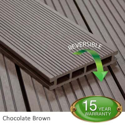 Chocolate Composite Decking - Tough Decking, Torquay