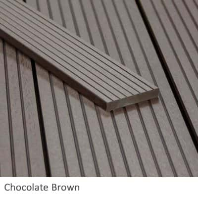 Chocolate Composite Decking Fascia Boards