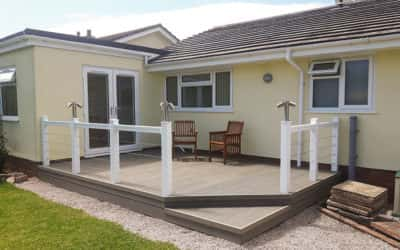 Composite Decking Installation By Brin Parker & Sons Ltd