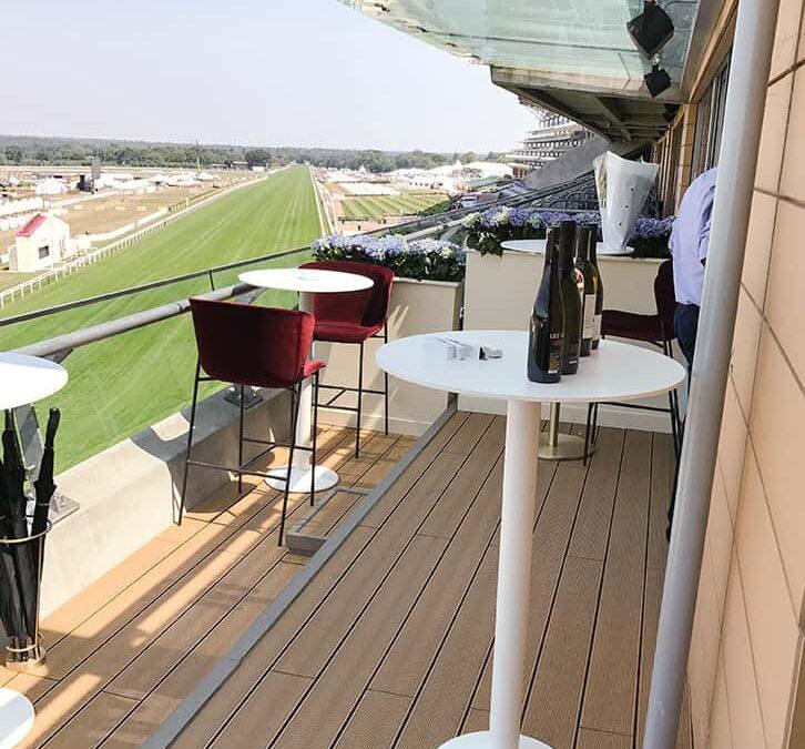 Ascot composite decking installation
