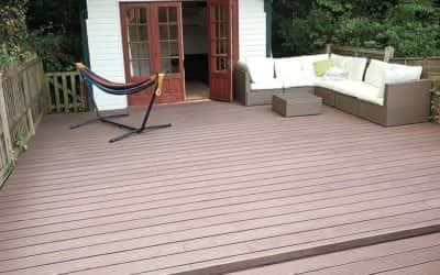 A Wonderful WPC Decking idea from Hannah L