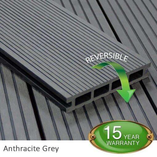 Anthracite Grey Composite Decking - Tough Decking, Torquay