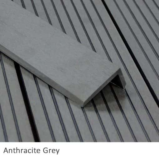 Anthracite corner trim