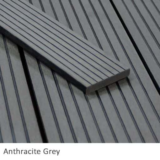 Anthracite fascia board