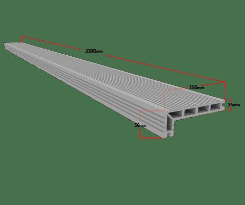 composite decking nosing board
