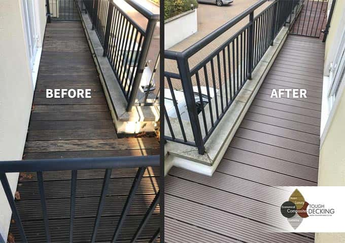 Chocolate Brown WPC Decking By Ryan White
