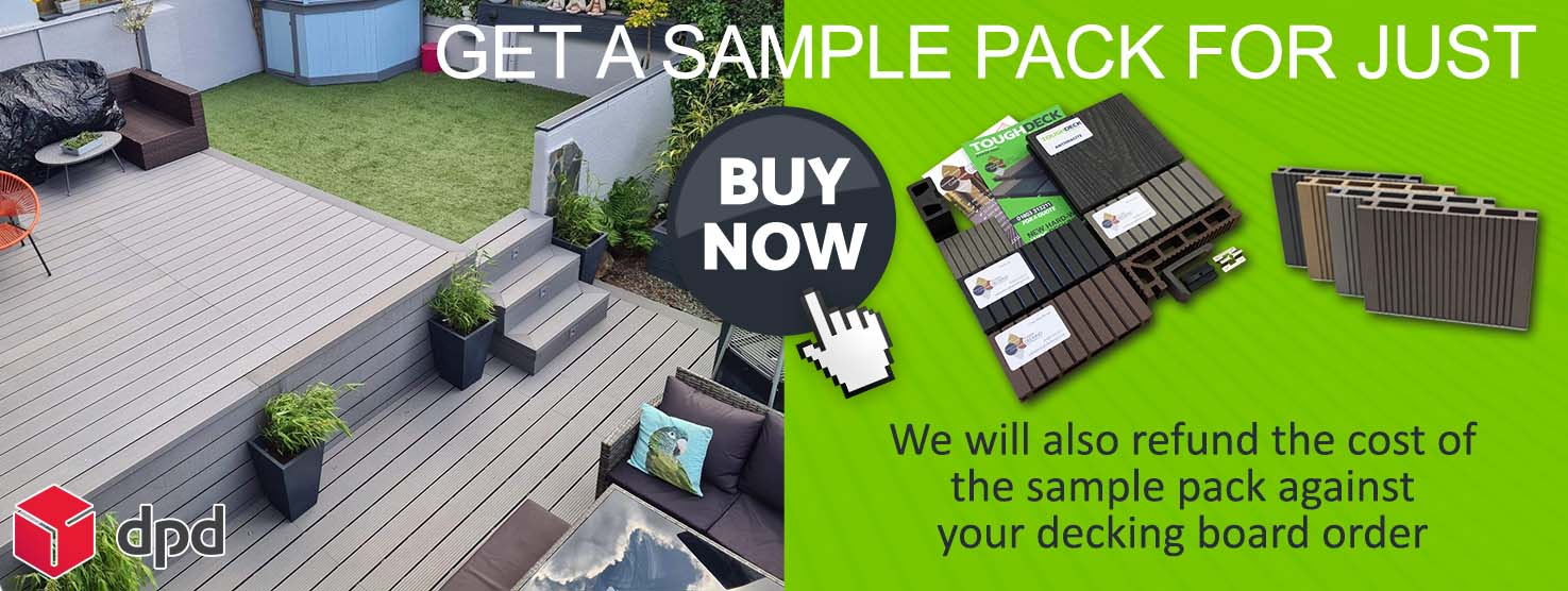 Composite Decking Samples Pack - Tough Decking, Torquay