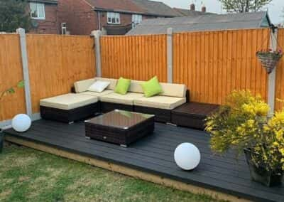 Charcoal Decking Installed 3