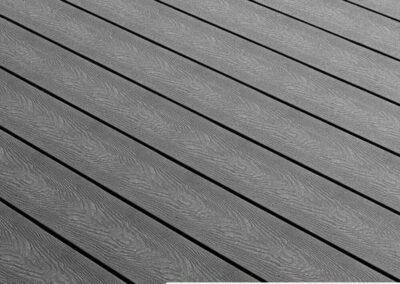 Tough Decking Woodsman + Anthracite Wood Grain Decking Board