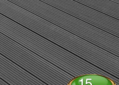 Anthracite Composite Decking Board - Tough Decking, Torquay