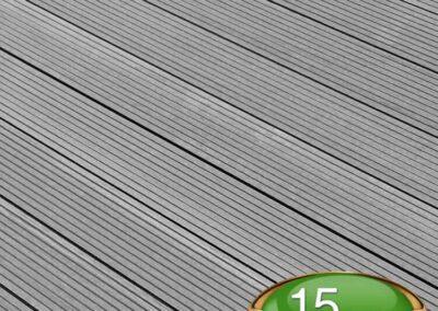 Stone Grey Composite Decking Board - Tough Decking, Torquay