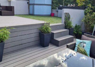 Stone Grey Decking Installed 2